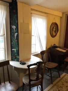 Louisa May's desk