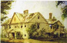 Mays painting of Orchard House