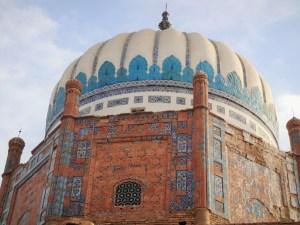 The shrine on Bibi Sahiba's grandson, 'Abd al-Rahim Qandahari
