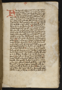 Image of the the Book of Margery Kempe