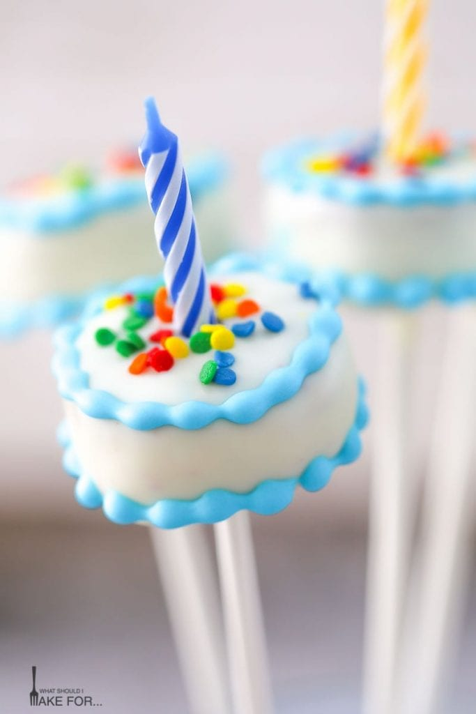 Birthday Cake Pops The Best Cake Of 2018