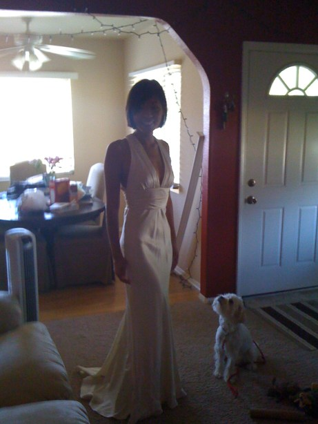 Wedding Dress, Front View!