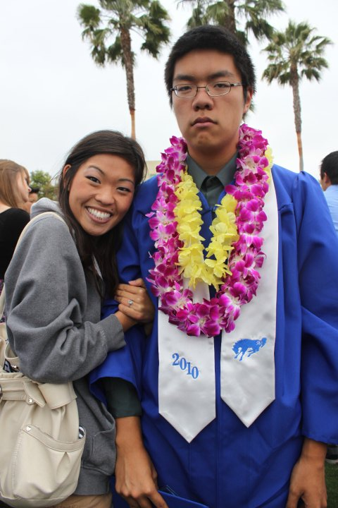 Me and my bro at his high school graduation