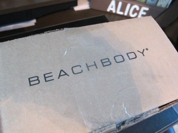 Gasp...the Beachbody box!!
