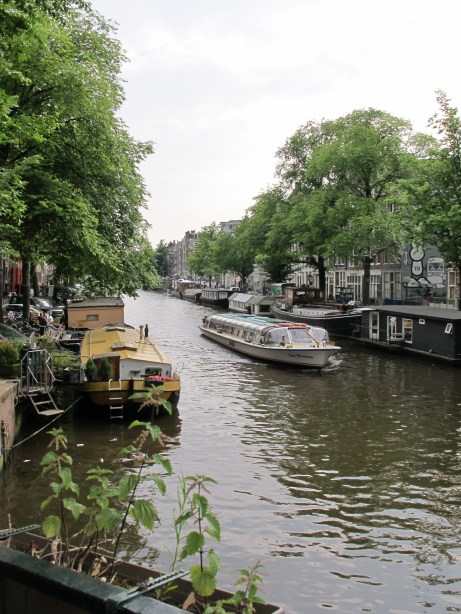 Just a normal view in Amsterdam...they have these canals EVERYWHERE! It's beautiful!