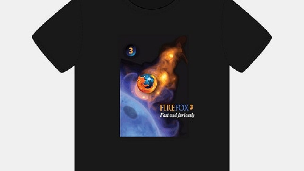 Tee-Shirt designed for Mozilla FireFox competition