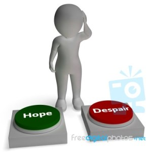 hope-despair-buttons-shows-hopeful-or-desperation-100207252