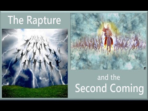 DIFFERENCE IN THE RAPTURE-TRIBULATION-SECOND COMING- PART 4