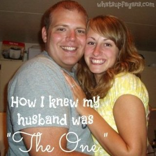 How I knew my husband was the one for me to marry. Surprisingly, it wasn't the great things that helped me ultimately decide. whatsupfagans.com