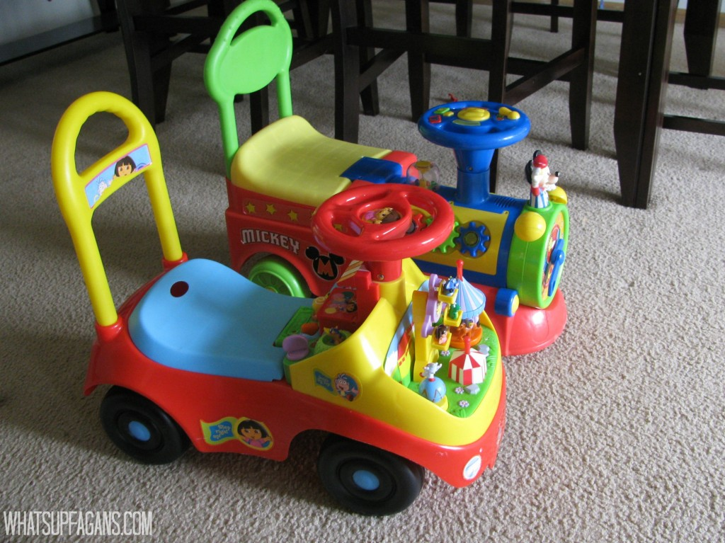 Ride on Toys - Great gift idea for twins 2nd birthday party