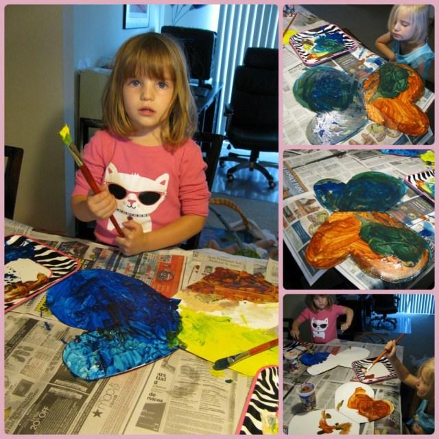 DIY Toddler Fairy Wings - Kids craft