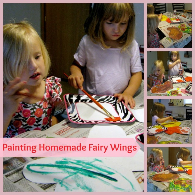 DIY Fairy Wings for Toddlers