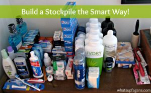 build a stockpile