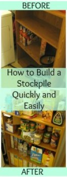 Building a stockpile in apartment