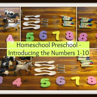 Teaching the numbers 1-10