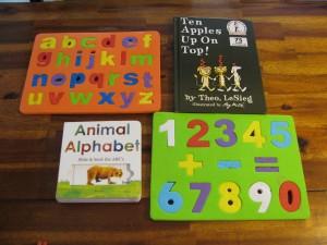 Preschool Book and Puzzles