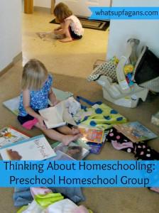Thinking About Homeschooling - Preschool Homeschool Group