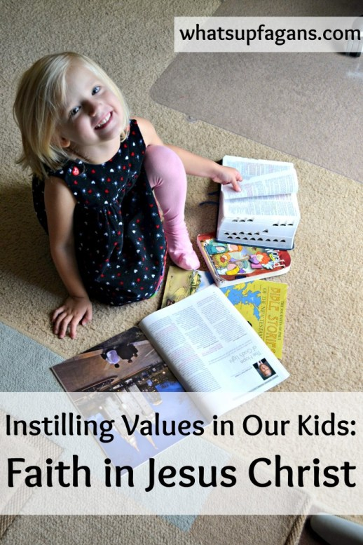 instilling values in our kids