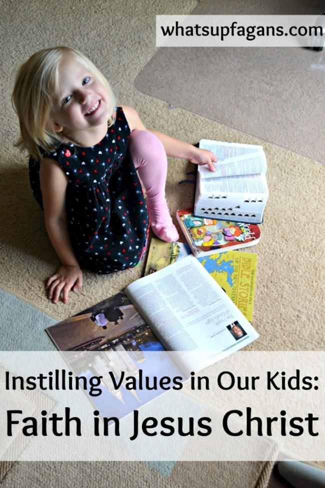 instilling values in our kids