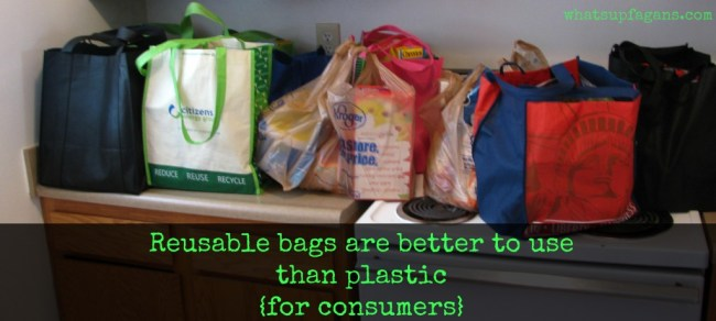 Here are 10 awesome reasons why reusable shopping bags are better to use than plastic bags for consumers.