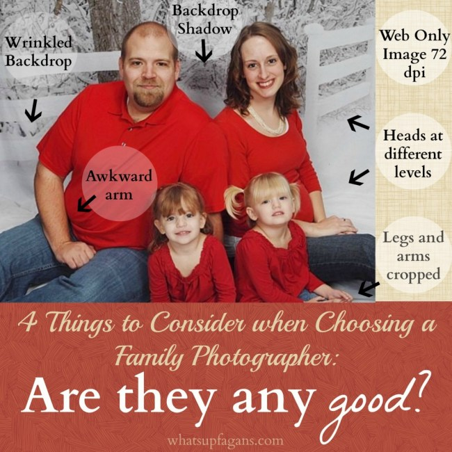 Four things to consider when choosing a family photographer - Are they any good? How much should I pay? Do they work well with families? And do they offer prints and digital images? | whatsupfagans.com