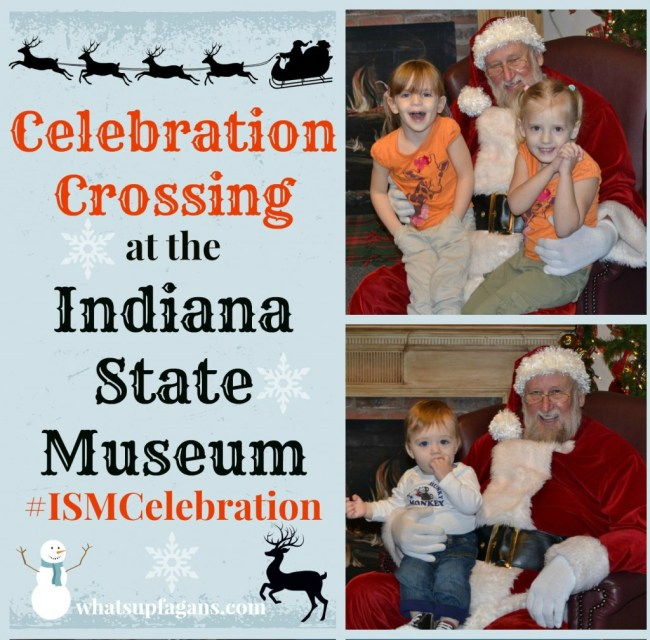Celebration Crossing at the Indiana State Museum in Indianapolis. #ISMCelebration