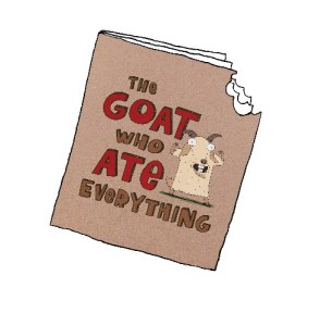 The Goat Who Ate Everything - Start Your Adventure with Happy Meal Books
