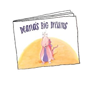 Deanna' Big Dream - 2013 Happy Meals Books from McDonalds
