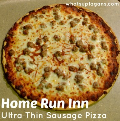 Home Run Inn Pizza - Ultra Thin Sausage Pizza