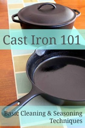 Spring Cleaning Tips - Cleaning Cast Iron 101