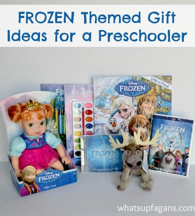 Great gift ideas for your a FROZEN loving preschooler! #shop #cbias | whatsupfagans.com