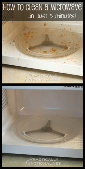 How to Clean a Microwave in 5 Minutes