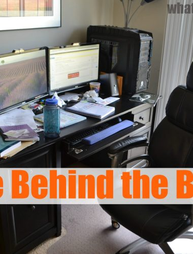 What life is like behind the blog - What's up Fagans? shares how she blogs, mess and all.   whatsupfagans.com