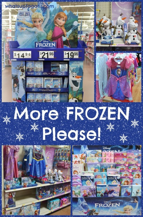 Must have more Disney FROZEN! I #shop #cbias #FROZENFun | whatsupfagans.com