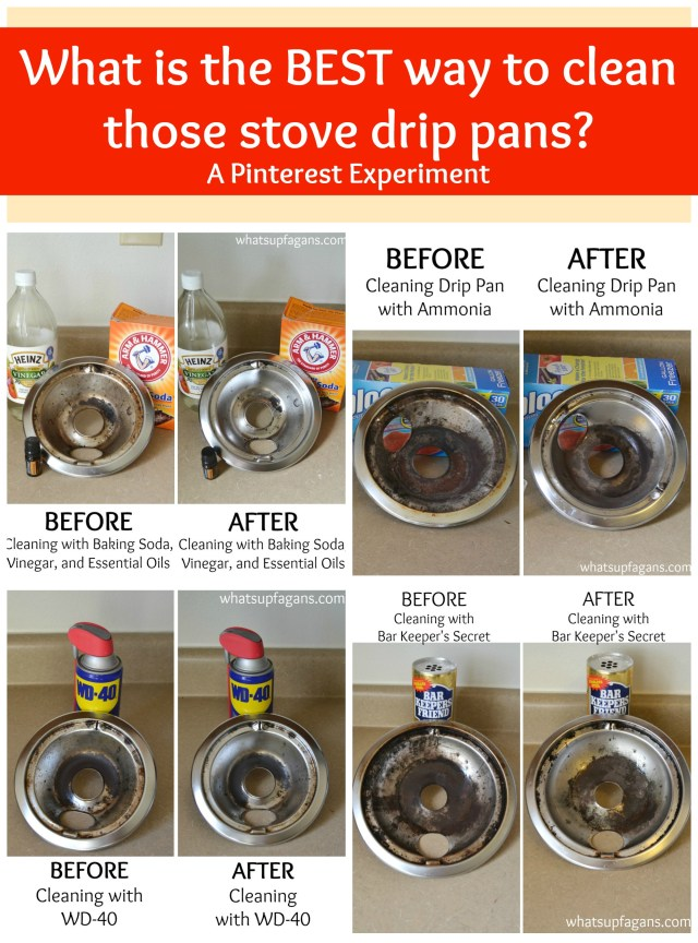 Everything You Wanted to Know About How to Clean Stove Drip Pans