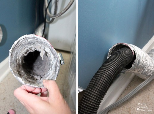 clean_out_dryer_hose - spring cleaning deep cleaning tips