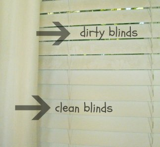 cleaning blinds with vinager 5