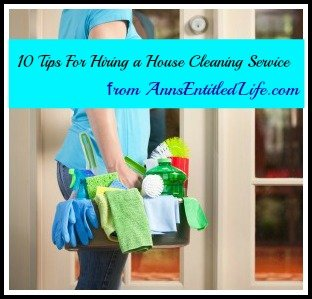 10 Tips for Hiring a House Cleaning Service