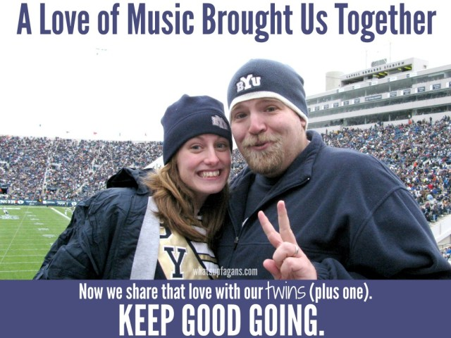 My mother whistled while she worked. That musical ability led me to a college degree, a marriage, and happy, singing kids. Keep Good Going.   whatsupfagans.com