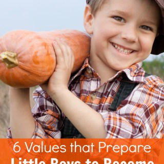As a Mom of Boys I want to raise them to be great men someday! Love these 6 values that I need to instill within him to help make it happen. Parenting tips.