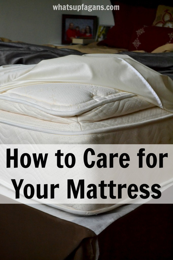 How to care for your mattress