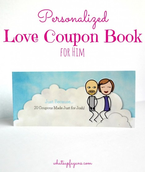 I love this! I've always wanted to make a personalized Love Coupon Book for him and this make it so easy!