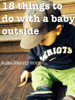 baby outside