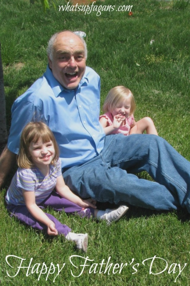 Happy Father's Day! A great post about one father's legacy of faith, love, and family.