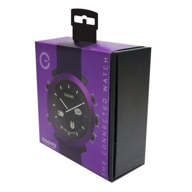 Need a cool tech gift for dad for Father's day? Check out the COGITO - The Connected Watch. Get smart phone notifications on your watch!