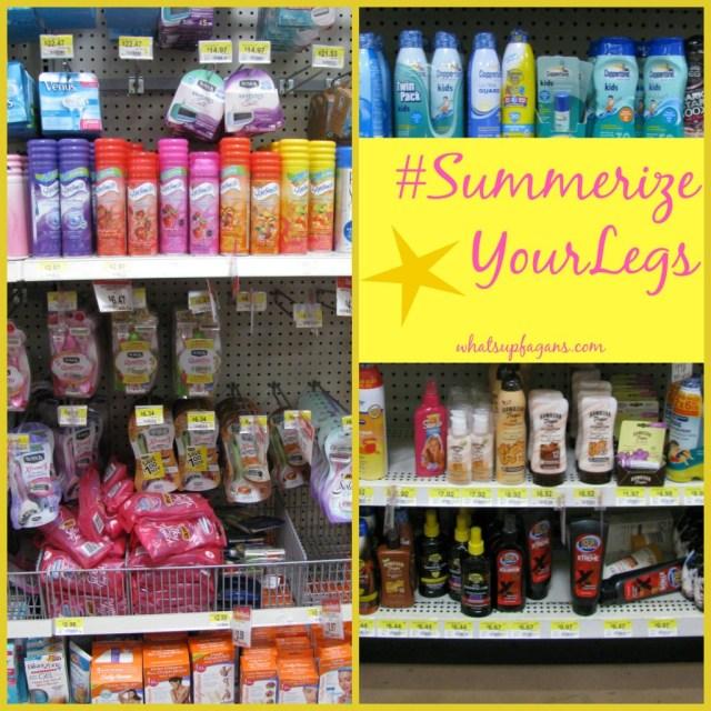 Shop at Walmart for Summer legs! #SummerizeYourLegs #cbias #shop