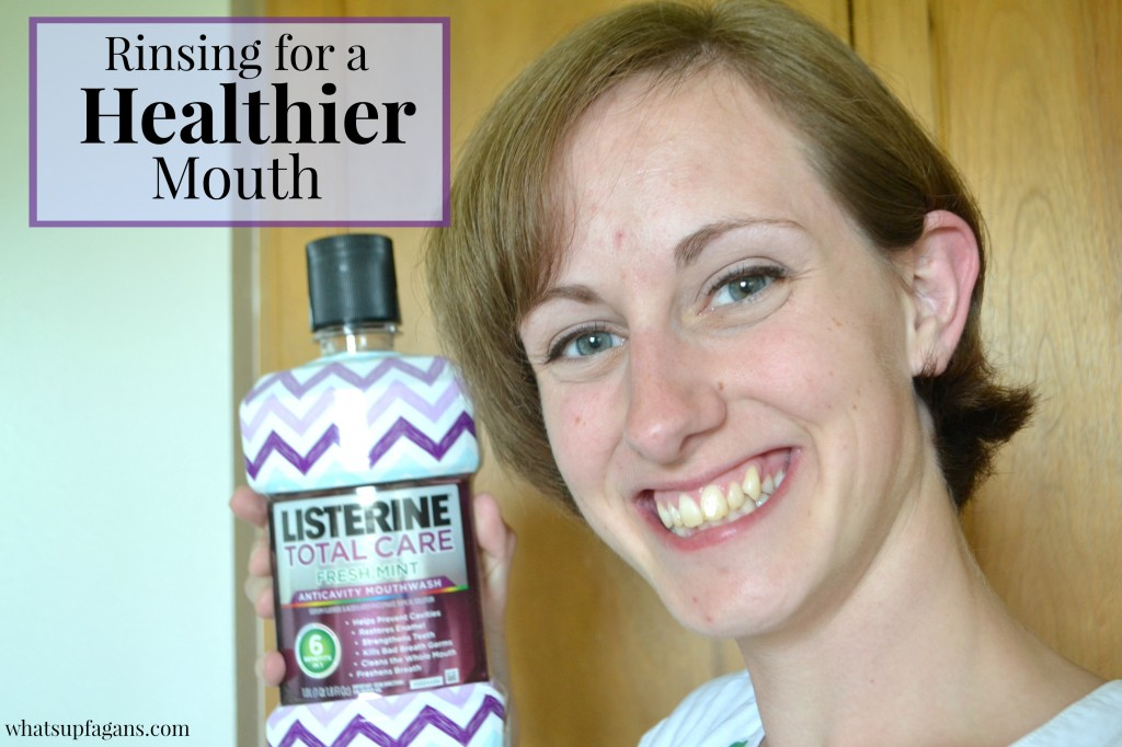 Better Oral Health - Rinsing for a Healthier Mouth