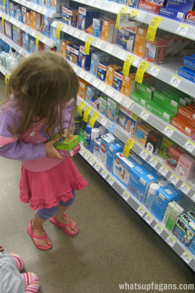 Have your kids play doctor with real Band-Aids. #shop #GiveaShot #cbias
