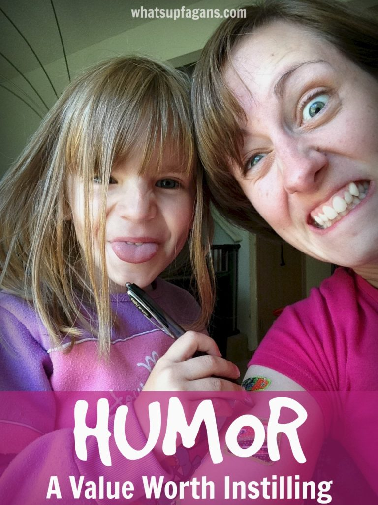 Simple ways of instilling humor in our kids. Such a fun post. I love my kids' sense of humor!
