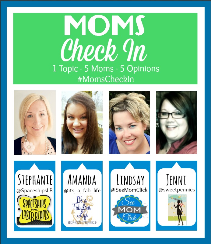 The Panel of Moms for the #MomsCheckIn - 5 Moms. 1 Question. Each Week.